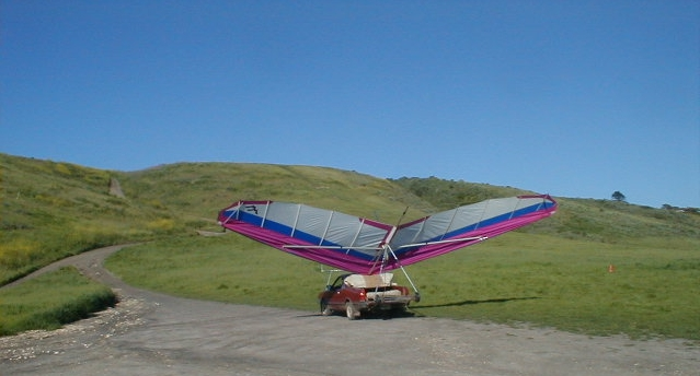 driving glider back up hill
